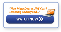 Click to Watch: How Much Does a LIMS Cost