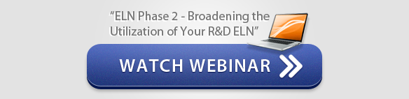 "Watch Webinar ""ELN Phase 2 Broadening the Utilization of Your R&D ELN"" - CSols, Inc."