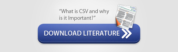 """Download Literature: """"What is CSV and why is it Important?"""" - CSols, Inc."""