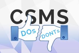 CSMS Dos & Don'ts - Informatics Insider: CSols, Inc.