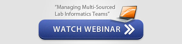 Webinar: Managing Multi-Sourced Lab Informatics Teams - CSols, Inc.