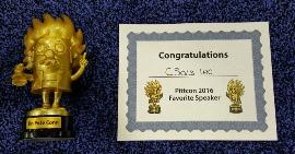 CSols Best Speaker Pittcon