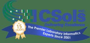 CSols 15 Year Anniversary Logo