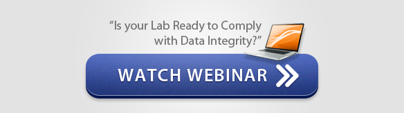 "Watch Webinar - ""Is Your Lab REady to Comply with Data Integrity?"""