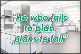 """Ho who fails to plan, plans to fail."""
