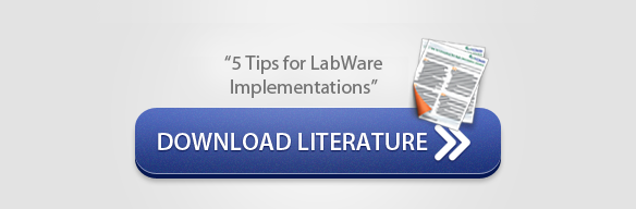 Download Literature: 5 Tips for LabWare Implementations