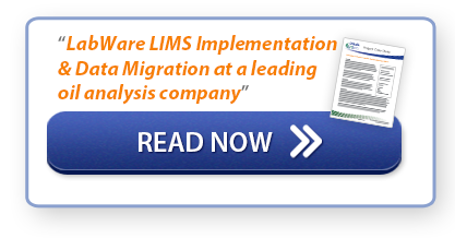 "Read Now: ""LabWare LIMS Implementation & Data Migration at a leading oil analysis company"""