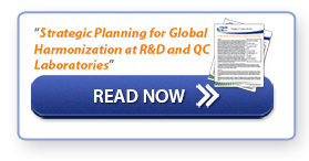 """Read Now: """"Strategic Planning for Global Harmonization at R&D and QC Laboratories"""""""
