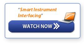 "Watch Now: ""Smart Instrument Interfacing"""