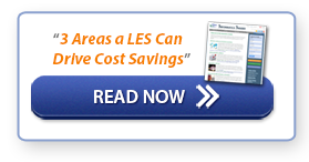 """Read Now: """"3 Areas a LES Can Drive Cost Savings"""""""