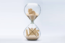 LIMS sand hourglass