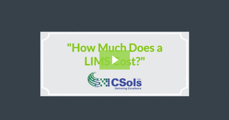 How Much Does a LIMS Cost