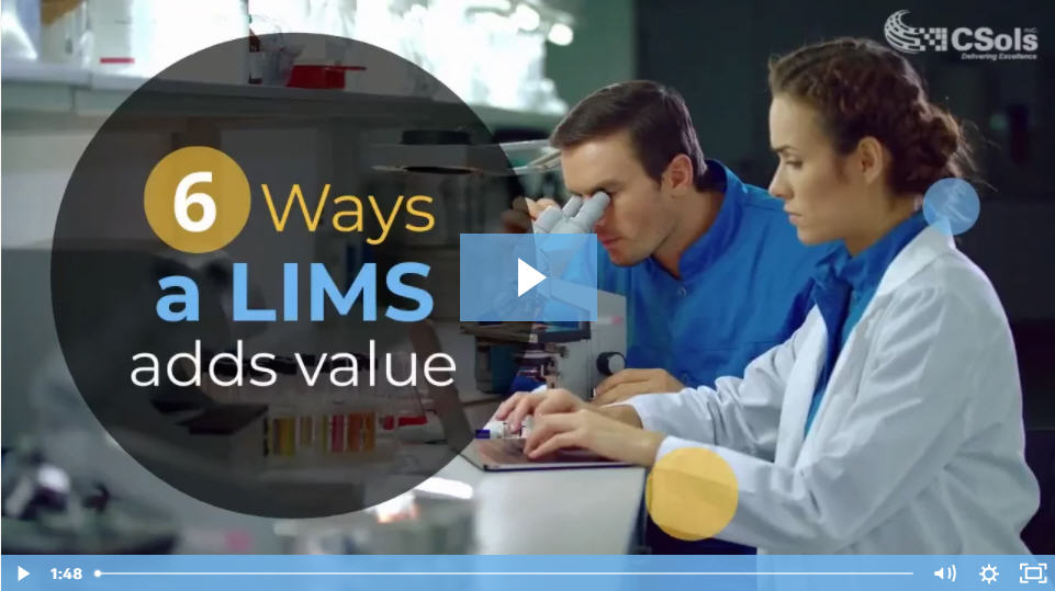 6 Ways a LIMS Adds Value