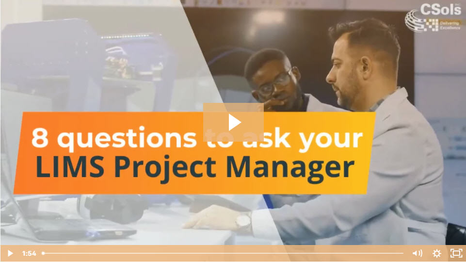 8 Questions to Ask a LIMS Project Manager