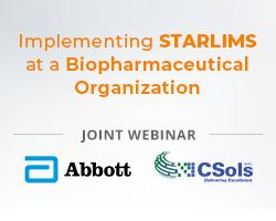 "Webinar: ""Implementation STARLIMS at a Biopharmaceautical Organization"""