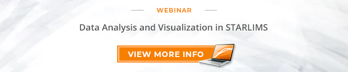"Webinar: ""Data Analysis and Visualization in STARLIMS"""