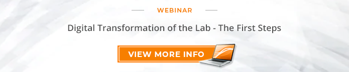 Digital Transform of the Lab - The First Steps