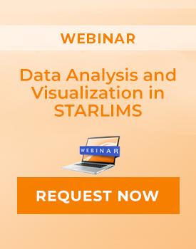 """Webinar: """"Data Visualization in STARLIMS Webinar"""""""