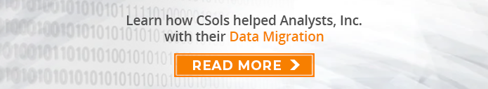 Learn how CSols helped Analysts, Inc. with their Data Migration