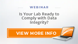 "Webinar: ""Is Your Lab Ready to Comply with Data Integrity?"""