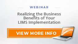"""Watch Webinar: """"Realizing the Business Benefits of Your LIMS Implementation"""""""