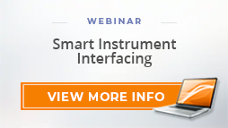 "Webinar: ""Smart Instrument Interfacing"""