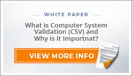 "White Paper: ""What is Computer System Validation (CSV) and Why is it Important?"""