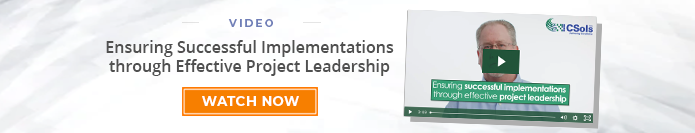 "Video: ""Ensuring Successful Implementations Through Successful Project Leadership"""