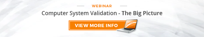 webinar_computer system validation the big picture