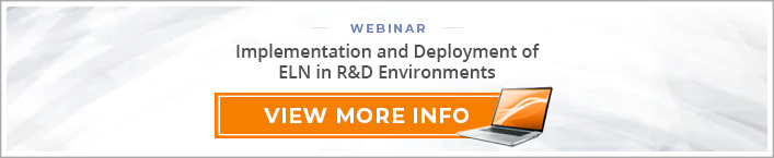 "Webinar: ""Implementation and Deployment of ELN in R&D Environments"""